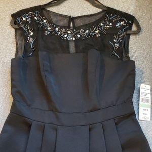 NWT Black Cocktail Dress